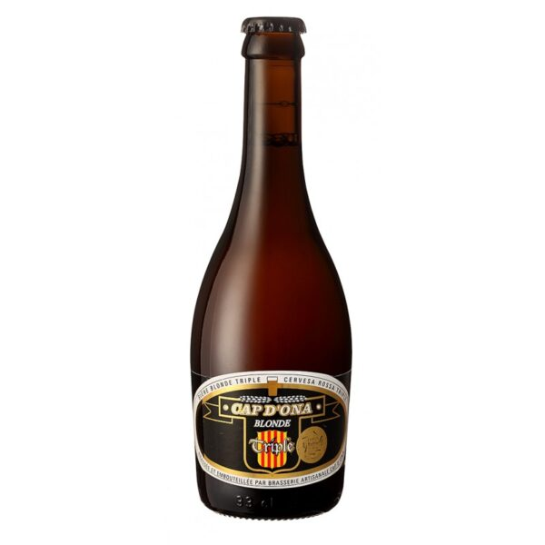 cap d'ona bier blond triple