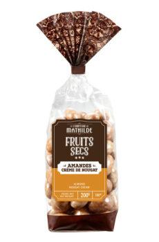 chocolade amandelen met nougat