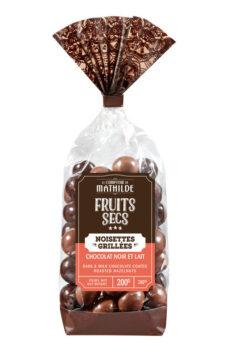 gegrilde hazelnoten met chocolade