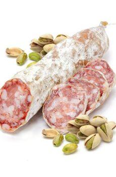 droge worst met pistachenoten