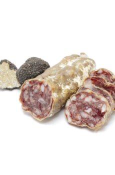 franse droge worst met truffel