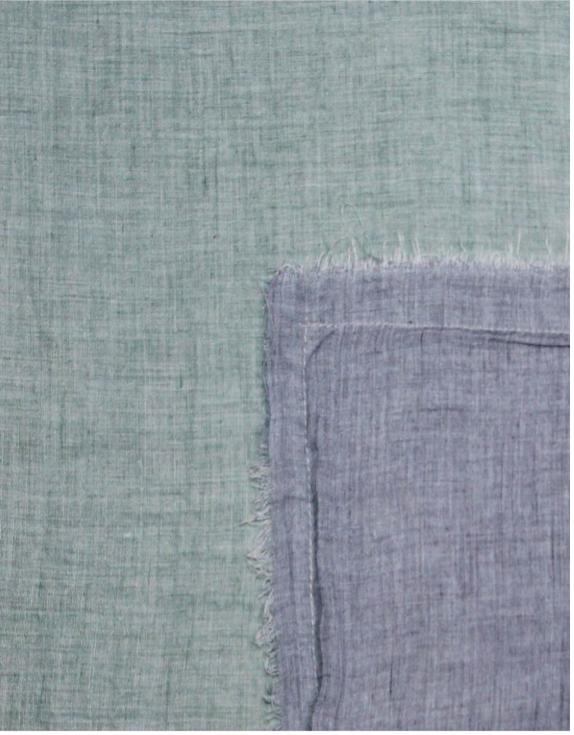 plaid groen/blauw