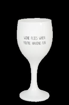sojakaars wijnglas