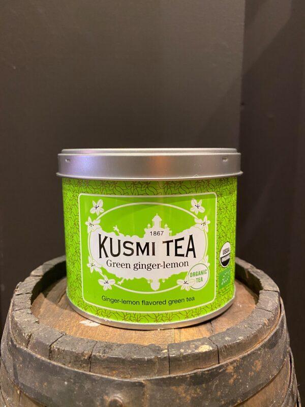 kusmi-green ginger lemon